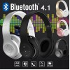Bluetooth Слушалки WIRELESS L150, 4.1, Шумопотискащи, Сиви