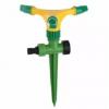 Въртящ се разпръсквач за тревни площи, 3-раменен на колче