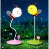 ЛЕД Настолна лампа Пчела- Осветително тяло с докосване, 3 степени за сила на светлината, Розово и бяло