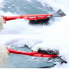 Стъргалка за почистване на лед и сняг с пластмасова дръжка