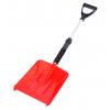 Лопата за почистване на сняг с телескопична, алуминиева дръжка и неопрен